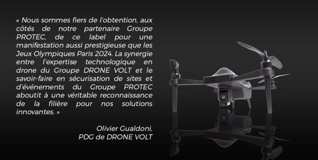 Labelisation Drone Volt