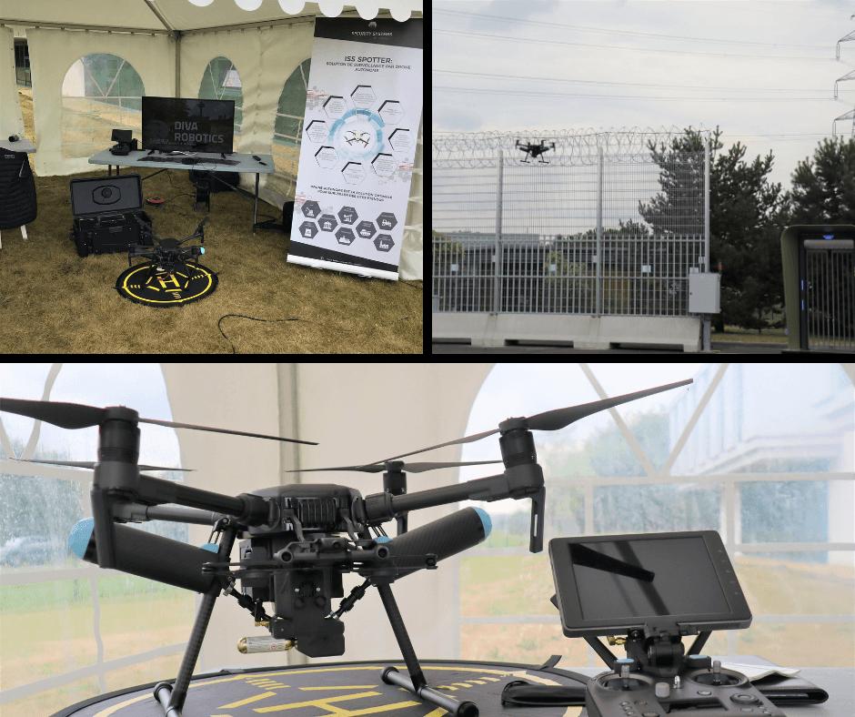drone de surveillance