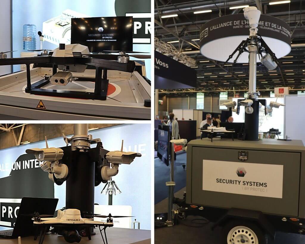 salon sécurité drone
